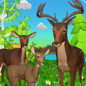 Deer Simulator: Animal Family 3D