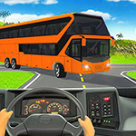 Heavy Coach Bus Simulation Game