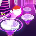 Hoop Ball 3D: Dancing Ball on Marshmello Tiles Road