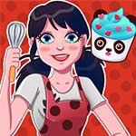 Ladybug Cooking Cupcake