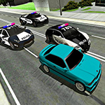 Mad Cop Police Car Race: Police Car VS Gangster Escape