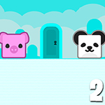 Panda Escape With Piggy 2