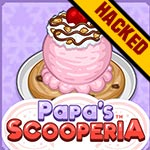 Papa's Scooperia Hacked