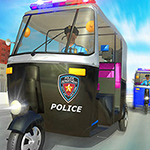 Police Tuk Tuk Auto Rickshaw Driving