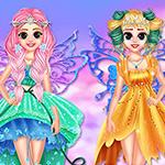 Princess In Colorful Wonderland