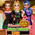 Princesses Halloween Getup
