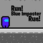 Run Blue Imposter Run