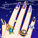 Galaxy Nail Art Designs
