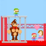 Konkey Dong vs Mario